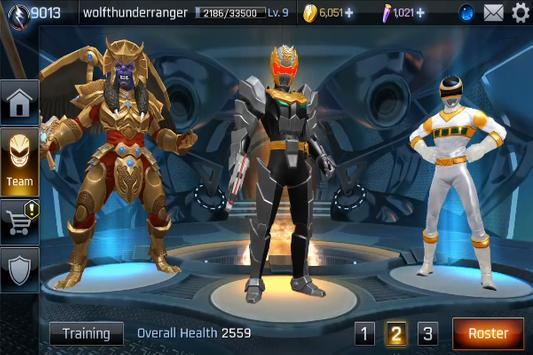 Game Power Rangers :Legacy Wars Trick screenshot 1