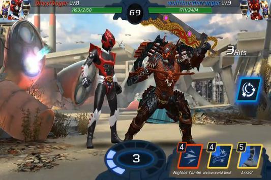 Game Power Rangers :Legacy Wars Trick screenshot 2