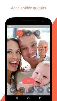 Tango : SMS calls & video screenshot 1