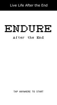 Endure: After the End poster
