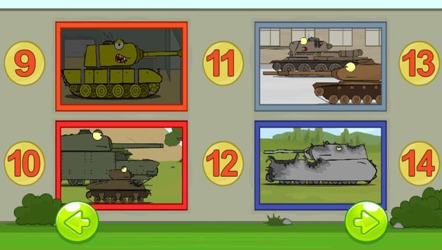 Find 5 differences - Tanks screenshot 10