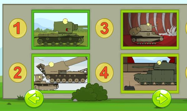 Find 5 differences - Tanks screenshot 1
