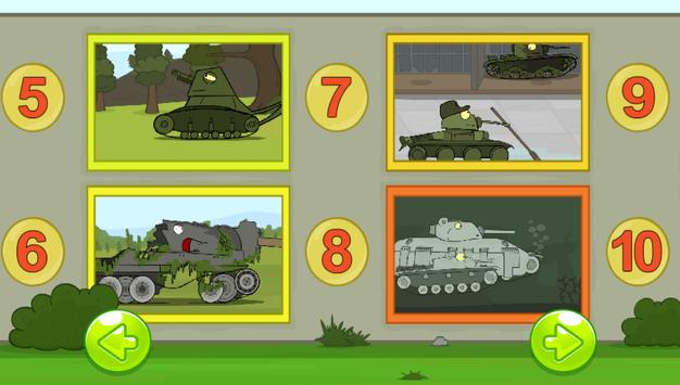 Find 5 differences - Tanks screenshot 2