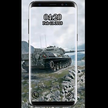 Best Tank War  Wallpaper HD poster