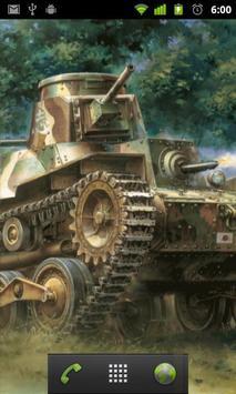 tank painting live wallpaper apk screenshot
