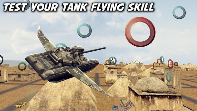 Flying World Tank simulator poster