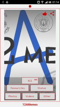 12 'A' Memes poster