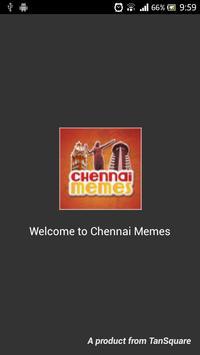 Chennai Memes poster