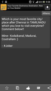 Chennai Memes apk screenshot
