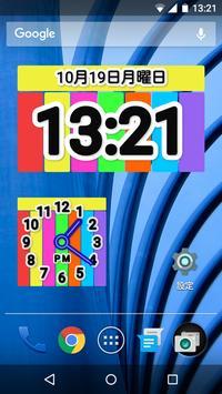 Color Clock Widget screenshot 2