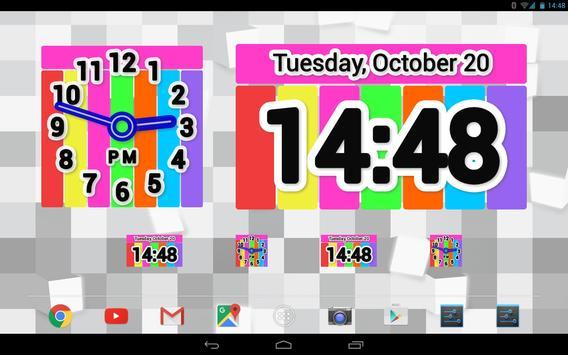 Color Clock Widget screenshot 8