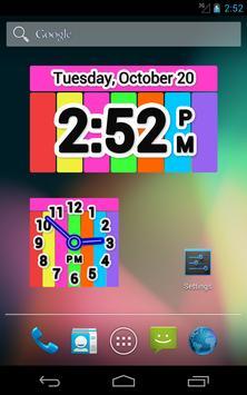 Color Clock Widget screenshot 9