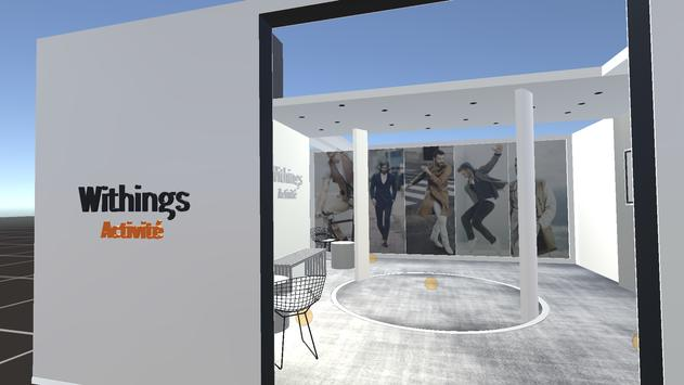 Withings Showroom poster
