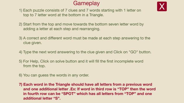 Word triangle free apk download free word game for android word triangle free apk screenshot spiritdancerdesigns Gallery