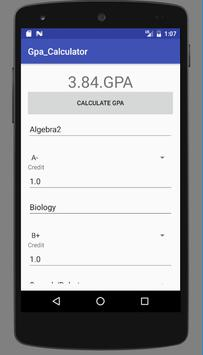 simple gpa calculator for android apk download