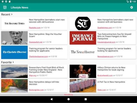 Lifestyle News screenshot 13