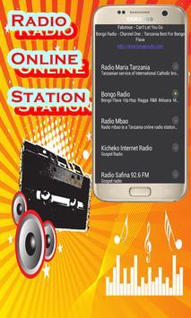 Tanzania radio online poster