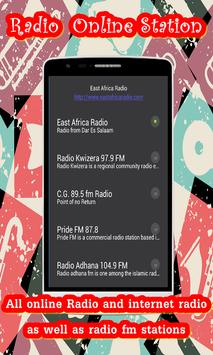 Tanzania radio online apk screenshot