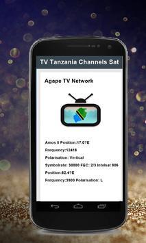TV Tanzania Channels Sat screenshot 1