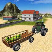 Tractor Driver Cargo icon