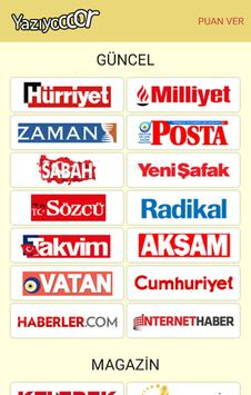 Yazıyor -Gazeteler ve Haberler poster