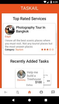 Taskail - Find help and connect with professionals poster