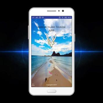 Bawean Island Tourism App poster