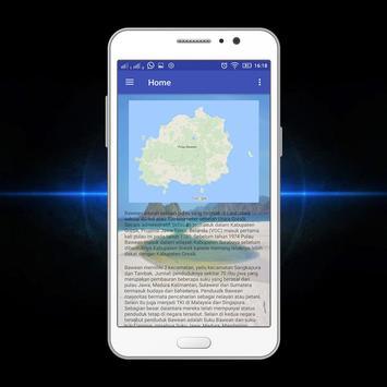 Bawean Island Tourism App screenshot 1