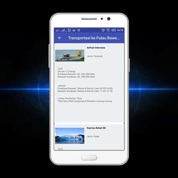 Bawean Island Tourism App screenshot 6