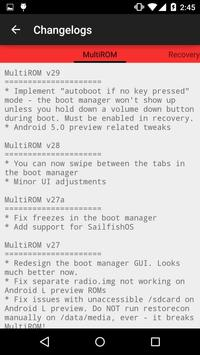 MultiROM Manager screenshot 4
