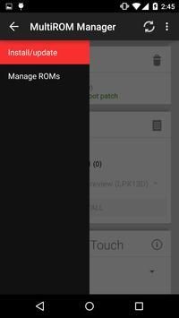MultiROM Manager screenshot 5
