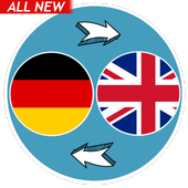 German English Translator With Text & Audio Sound icon