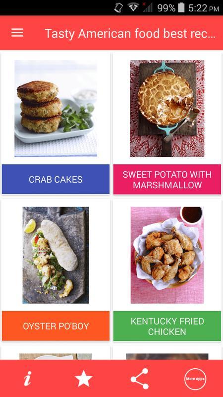 Tasty american food best recipes descarga apk gratis comer y beber tasty american food best recipes captura de pantalla de la apk forumfinder Image collections