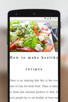 Healthy Recipes Free for Weight Loss screenshot 1