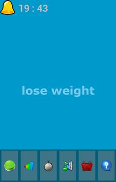 lose weight - free poster