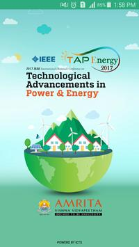 TAP Energy 2017 poster