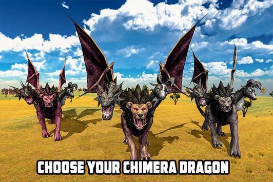 Lion Chimera Dragon vs Wild Dinosaur screenshot 11