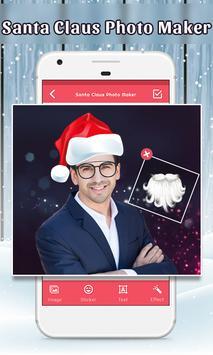 Santa Claus Photo Maker poster