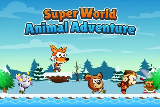 Super World Animal Adventure Journey screenshot 14