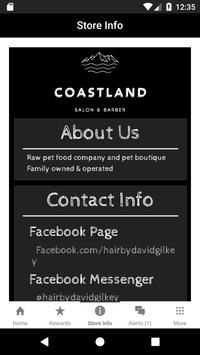 Coastland Rewards poster