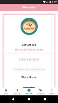 DermaClinic Rewards screenshot 2