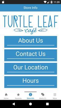 Turtle Leaf Cafe Rewards screenshot 2