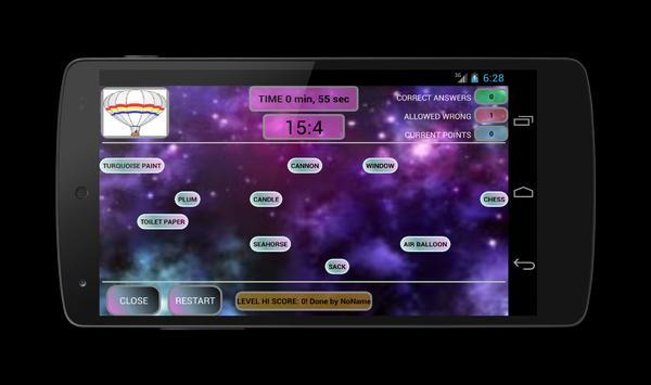 TapMatch (Learn English) screenshot 3