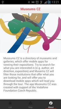 Museums CZ apk screenshot