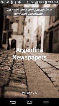 Argentina Newspapers poster