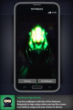Space Alien Invasion LWP poster