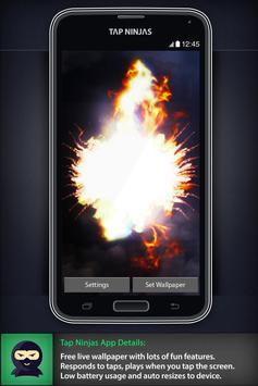 Dragon Blast Fireball LWP screenshot 2