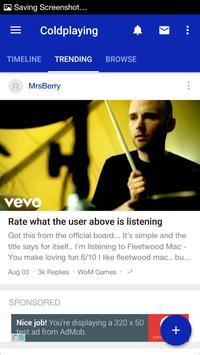 Coldplaying apk screenshot