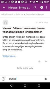 dePedicure.nl Online Platform screenshot 1