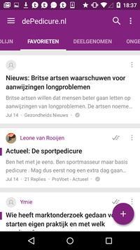 dePedicure.nl Online Platform screenshot 2